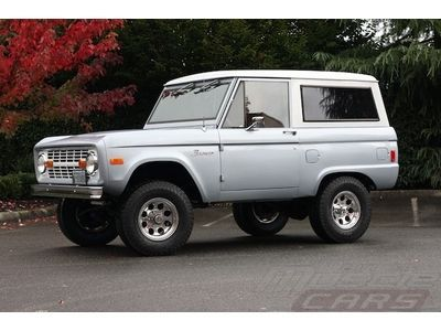 1977 Ford Bronco Silver - Great Driver - Last Year of the Vintage Bronco!, image 41