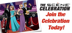 Celebrate with SCENE for 500+ chances to WIN!