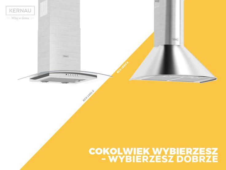 1, a może 2 <3? My dbamy o jakość i design, Ty wybierasz, który okap zagości w twojej kuchni :).