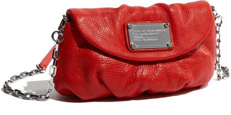 Marc By Marc Jacobs Classic Q  Karlie Crossbody Flap Bag in Red (cherry) - Lyst