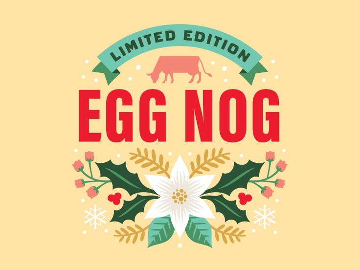 It's never to early for Egg Nog. The floral design was inspired by Pennsylvania Dutch designs. Hit the attachment to see the full packaging.