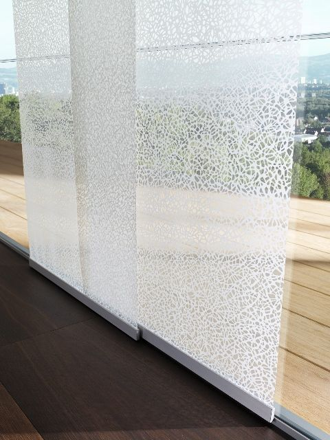 Elegantní posuvné panelové stěny na stínění