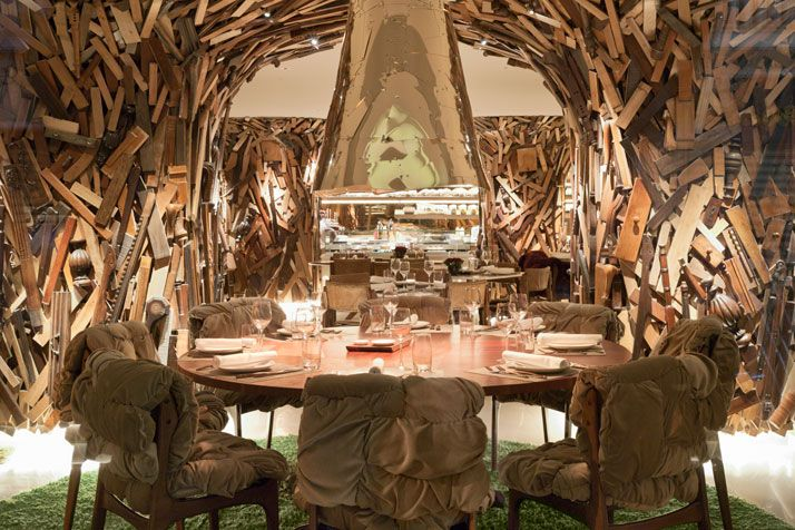 NEW Taste Restaurant by Campana Brothers in Athens, Greece - http://www.yatzer.com/NEW-Hotel-Campana-Brothers-Athens-Greece