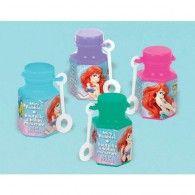 The Little Mermaid Mini Bubbles Pkt12 $13.95 A391613