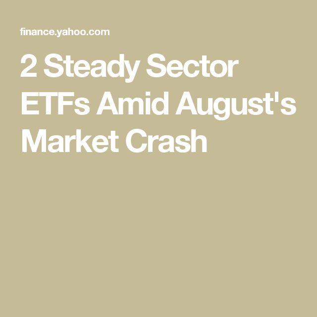 2 Steady Sector ETFs Amid August's Market Crash