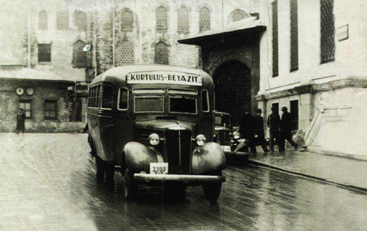 1930 kurtuluş beyazıt otobüsü