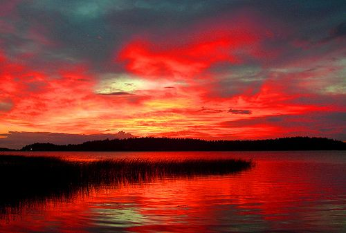 Photographer:Per Ola Wiberg  Gorgeous sunset!