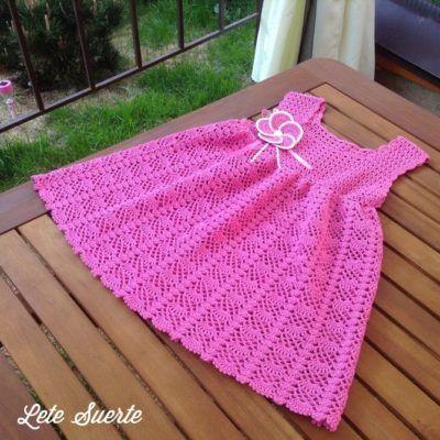 Childrens crochet dresses