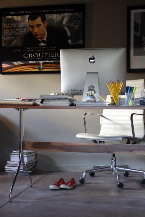 Office desk (Nelson Swag Leg Work Table)