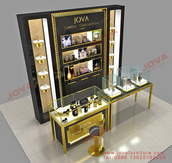 Store Perfume Display Cabinet Perfume Display Perfume Stand Display Hotel Interior Design