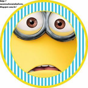 Despicable Me Free Printable Candy Bar Labels.