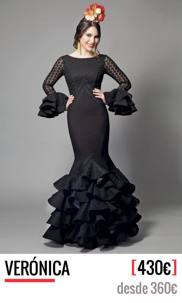 Colección 2016 de Aires de Feria, trajes de flamenca. Diseño, fabricación y venta. 100% Moda flamenca. Trajes de gitana con todo el sabor a Andalucía.