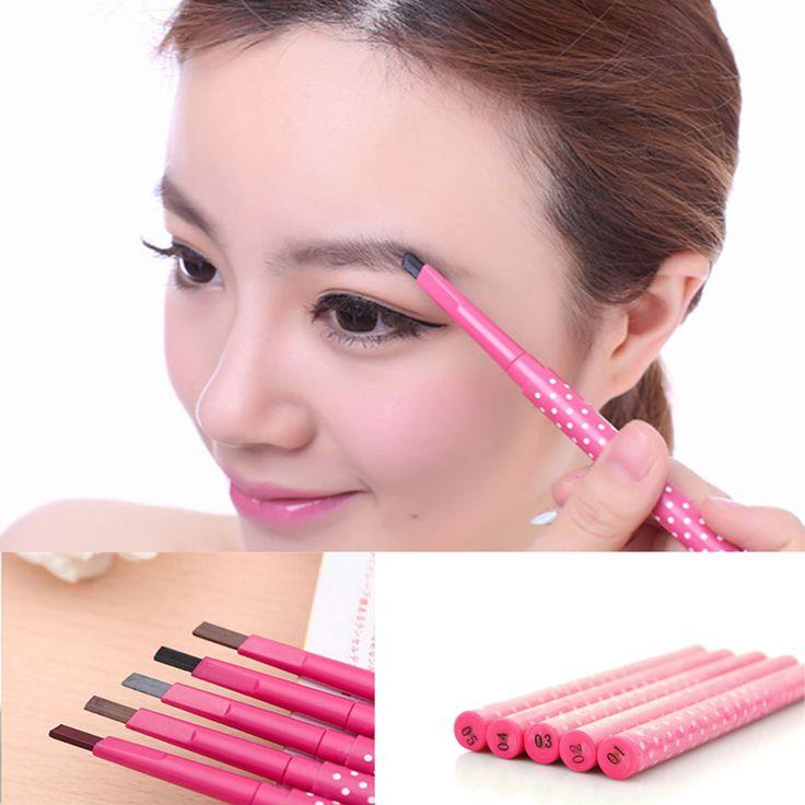 Waterproof Longlasting permanent eyebrow pencil Eye Brow Liner Powder eye liner shadow eyebrow enhancer Makeup Tools accessories Professional Makeup Brush Set