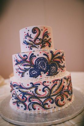 Best 25 Henna Wedding Cake Ideas On Pinterest