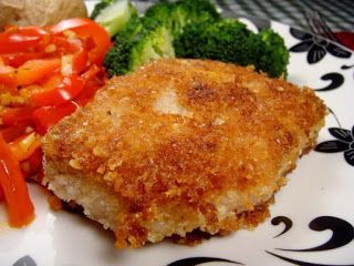 Melinda Besinaiz: Parmesan Crusted Pork Chops, clean eating, 21 day fix