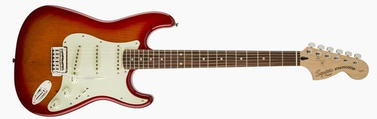 Squier Standard Stratocaster 2015 Cherry Burst