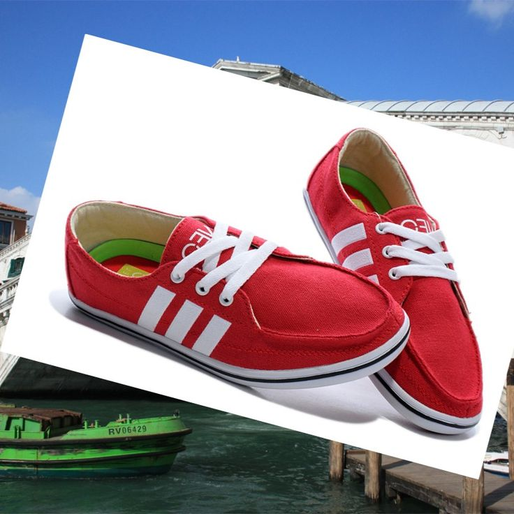 Adidas Originals Stile NEO Scarpe Da Donna Rosso/Bianco.Quality Sneakers are worthy for you own it .Dont miss it .