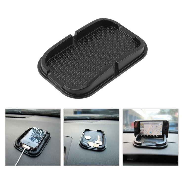 סלולרי גומי כרית סליפ אנטי מכונית רב תפקודית אוניברסלי טלפון לוח מחוונים מקל דביק המדף הנוגד ההחלקה מאט לgps MP3