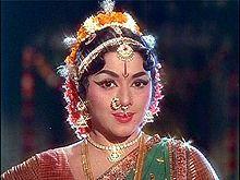 legendary dancer and actress Padmini June 12, 1932