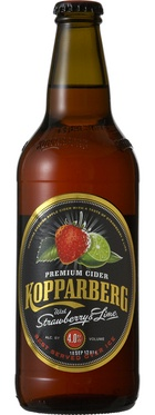 Kopparberg Strawberry and Lime Cider - so refreshing and flavorful.