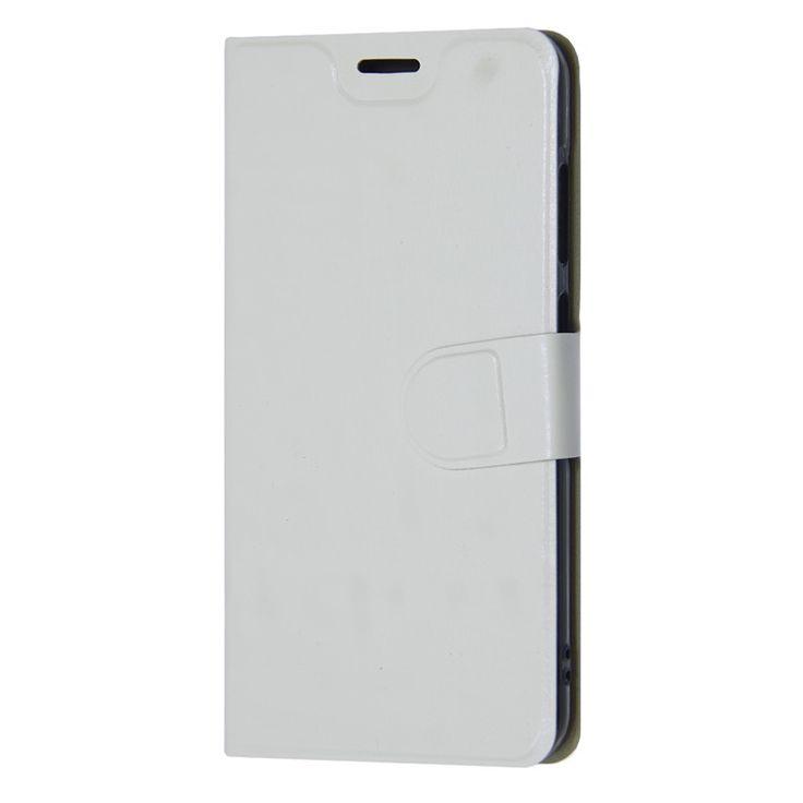 Białe Etui Flexi Book Stand Case Huawei P10 Lite