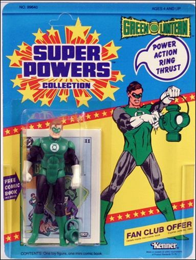 super powers green lantern   Super Powers Collection Action Figures Green Lantern by Kenner
