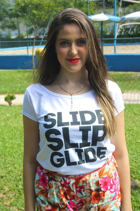 Camiseta | Slide slip glide preto R$ 35,00 Heti Skating t-shirt