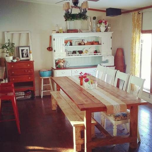Beautiful Manufactured Home Decorating Ideas   Dinning Room 3