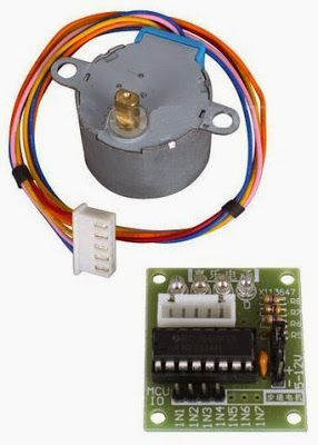 Tutorial Arduino: Motor paso a paso con un módulo ULN2003, otro interesante tutorial desde El Cajón de Arduino, seguimos aprendiendo