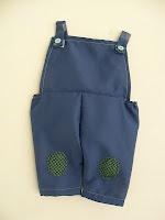 Naadjes en draadjes: Jules kleertjes (oa salopet, jasje, schoentjes, ...)