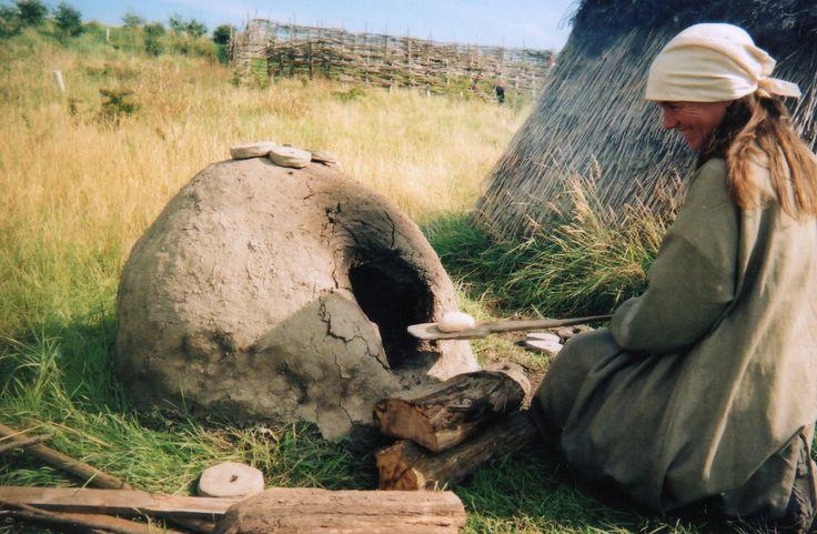 Bread oven at Bede's World, Jarrow