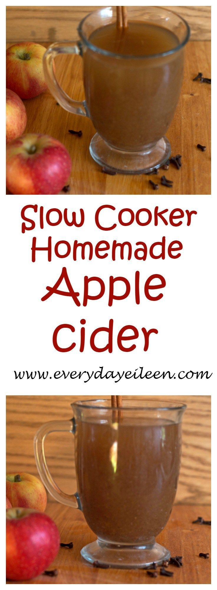 slow-cooker-homemade-apple-cider super easy to prepare..quarter all the fruit and slow cook the fruit.  After cooked and sieve the fruit. enjoy the cider and the adults can add in bourbon.  Enjoy this cider in your sangria and doughnut recipe.