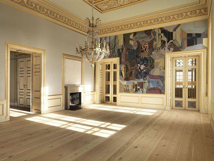 Amalienborg Interior Amalienborg Castle in ...