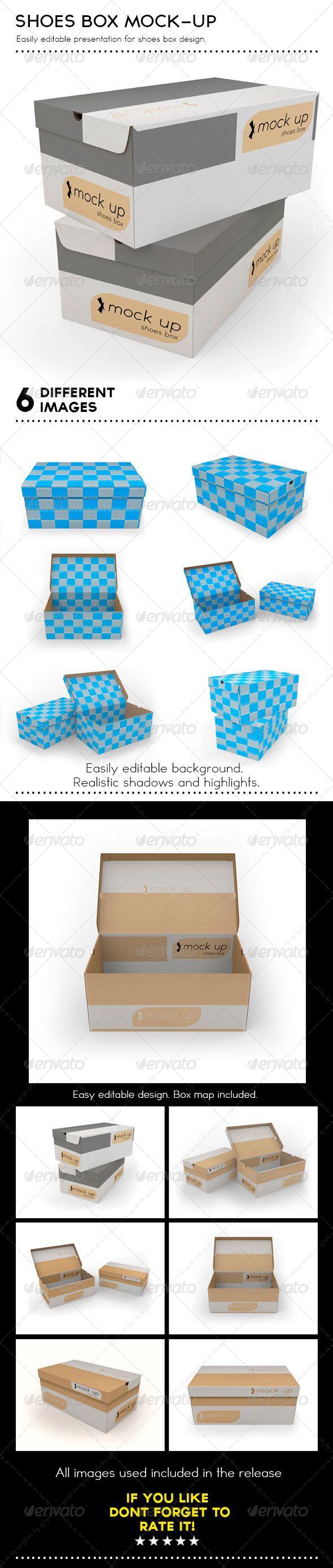 Shoes Box Mockup