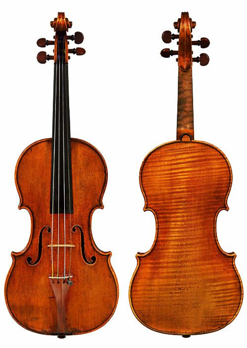 Antonio Stradivari - Violin Cobbett - Cremona (1683)    I personally believe that musical instruments like these are certainly works of art.