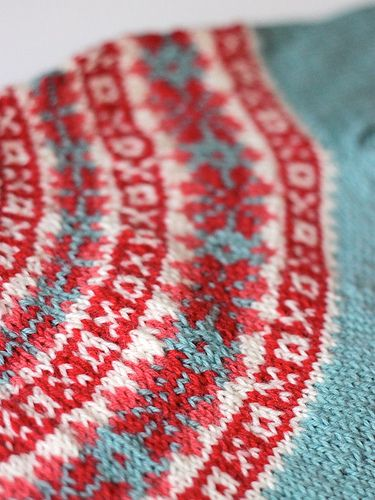 Ravelry: handepande's Red & Blue