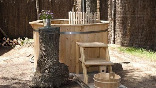 Zuhaitz Etxeak, las cabañas en los árboles. Spa ecológico.