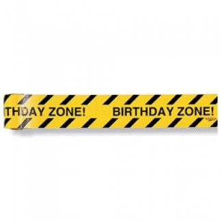 Construction Party Supplies, Construction Party Warning Tape