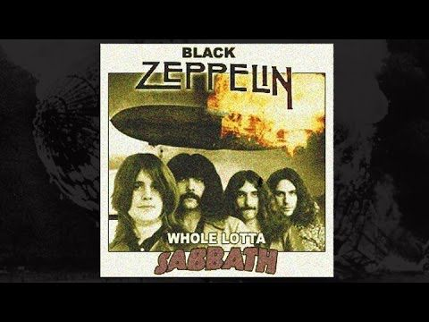 Whole Lotta Sabbath (Led Zeppelin vs Black Sabbath Mashup) by Wax Audio - YouTube
