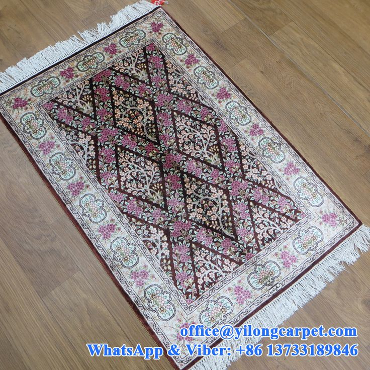 43 Best Turkish Knots Silk Carpet Images On Pinterest