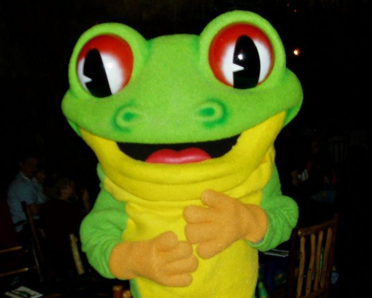 Sing It Kitty by Rainforest Cafe, Cha Cha The Tree Frog