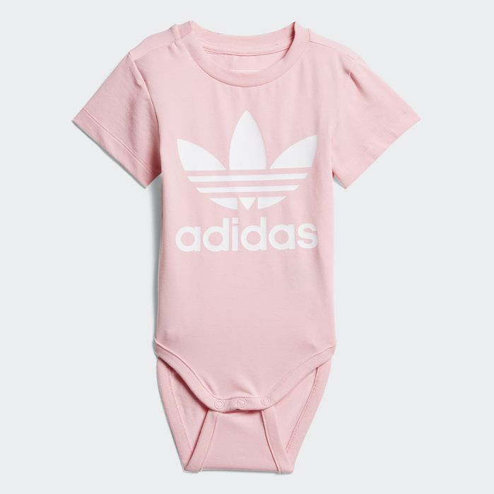 Mayo Fonética tenis  Trefoil Bodysuit Pink 4T Kids (avec images) | Mode enfant, Mode, Enfant