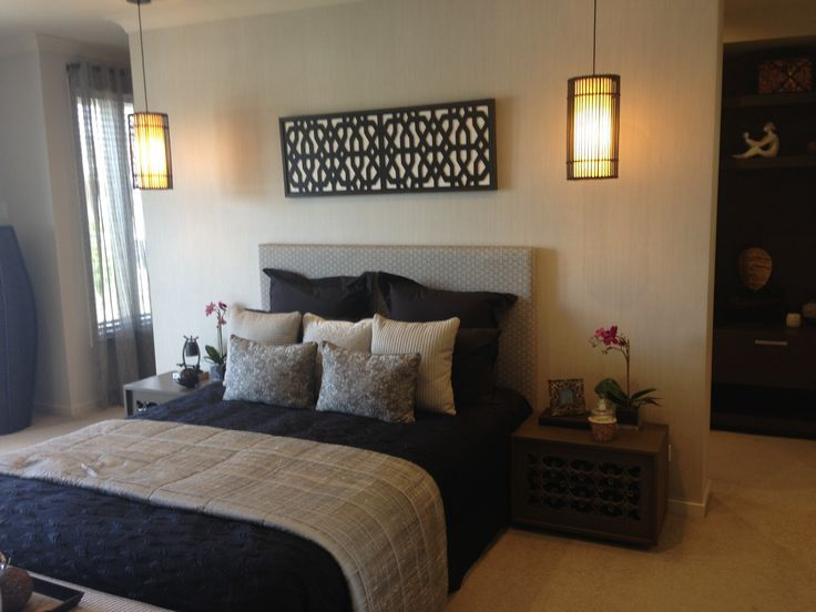 58 best images about False wall behind bed on Pinterest