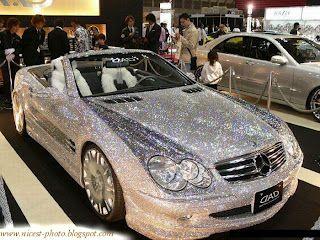 Mercedes Sl Tout A Fait En Diamant C Est La Voiture La Plus Cher