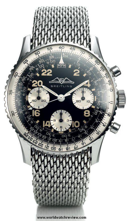 1962 Breitling Navitimer Cosmonaute | Raddest Mens Fashion Looks On The Internet: https://www.raddestlooks.org