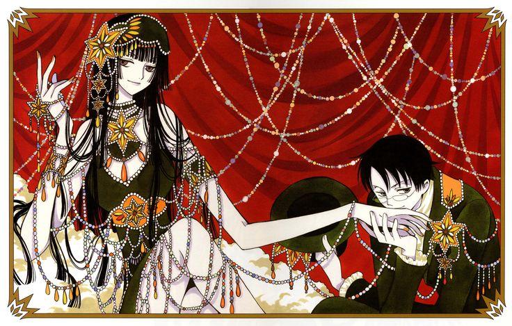 xxxHOLiC, Watanuki Kimihiro, Ichihara Yuuko, Pillow, Green Dress, Curtain