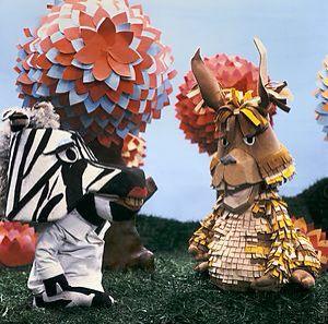 Zaza zebra en Chico Lama