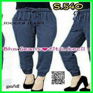 jual celana jogger jeans wanita S.540