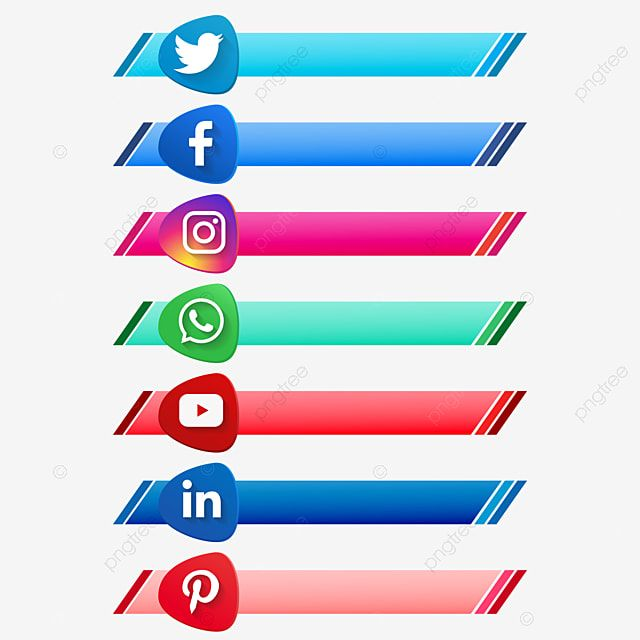 ناقلات شعارات وسائل الإعلام الاجتماعية الحديثة مجموعة لافتات للنص Png شعار قصاصات فنية علامات وسائل التواصل الاجتماعي أزرار وسائل التواصل الاجتماعي Png والمت Social Media Icons Vector Social Media Logos Instagram