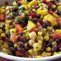 spaanse-mais-en-bonen-salade